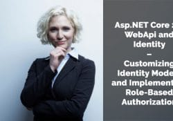 Asp.NET Core 2.0 WebApi and Identity – Customizing Identity Models and Implementing Role-Based Authorization