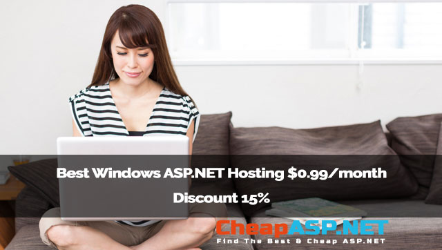 Best Windows ASP.NET Hosting $0.99/month Discount 15%