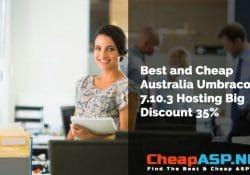 Best and Cheap Australia Umbraco 7.10.3 Hosting Big Discount 35%
