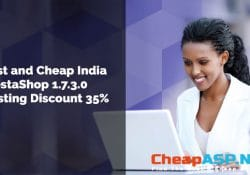 Best and Cheap India PrestaShop 1.7.3.0 Hosting Discount 35%