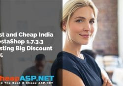 Best and Cheap India PrestaShop 1.7.3.3 Hosting Big Discount 35%