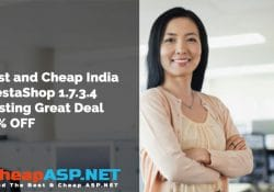 Best and Cheap India PrestaShop 1.7.3.4 Hosting Great Deal 35% OFF