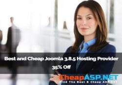 Best and Cheap Joomla 3.8.5 Hosting Provider 35% Off