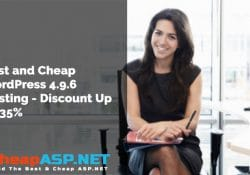 Best and Cheap WordPress 4.9.6 Hosting - Discount Up To 35%