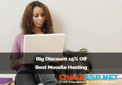 Big Discount 15% Off Best Moodle Hosting