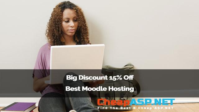 Big Discount 15% Off Best Moodle Hosting