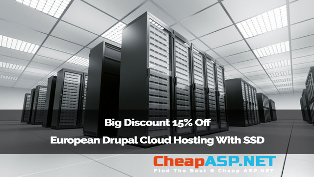 Big Discount 15% Off European Drupal Cloud Hosting With SSD