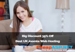 Big Discount 35% Off Best UK Joomla Web Hosting