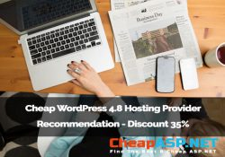 Cheap WordPress 4.8 Hosting Provider Recommendation - Discount 35%
