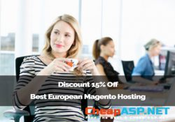 Discount 15% Off Best European Magento Hosting