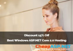Discount 15% Off Best Windows ASP.NET Core 2.0 Hosting