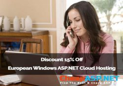 Discount 15% Off European Windows ASP.NET Cloud Hosting