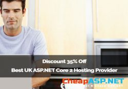 Discount 35% Off Best UK ASP.NET Core 2 Hosting Provider
