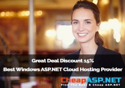 Great Deal Discount 15% Best Windows ASP.NET Cloud Hosting Provider