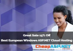 Great Sale 15% Off Best European Windows ASP.NET Cloud Hosting