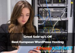 Great Sale 15% Off Best European WordPress Hosting