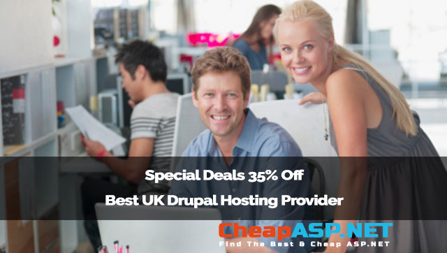 Special Deals 35% Off Best UK Drupal Hosting Provider