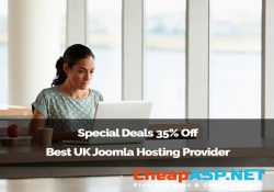 Special Deals 35% Off Best UK Joomla Hosting Provider