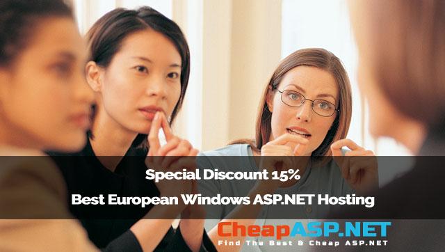 Special Discount 15% Best European Windows ASP.NET Hosting