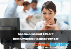 Special Discount 15% Off Best Umbraco Hosting Provider