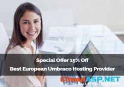 Special Offer 15% Off Best European Umbraco Hosting Provider