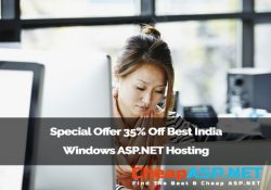 Special Offer 35% Off Best India Windows ASP.NET Hosting