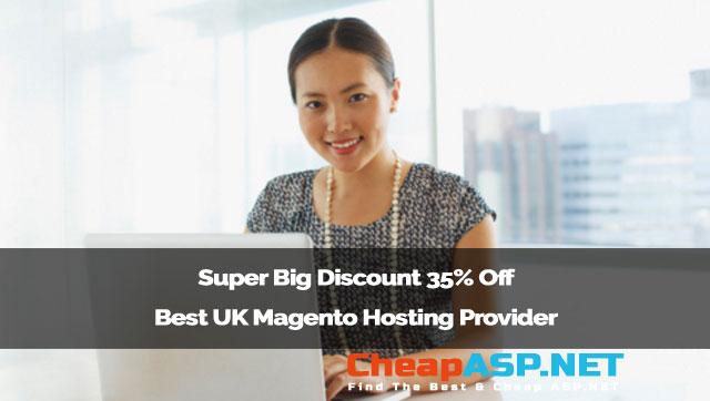 Super Big Discount 35% Off Best UK Magento Hosting Provider