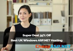 Super Deal 35% Off Best UK Windows ASP.NET Hosting