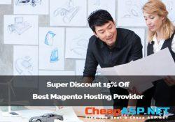 Super Discount 15% Off Best Magento Hosting Provider