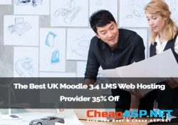 The Best UK Moodle 3.4 LMS Web Hosting Provider 35% Off