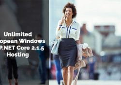 Unlimited European Windows ASP.NET Core 2.1.5 Hosting