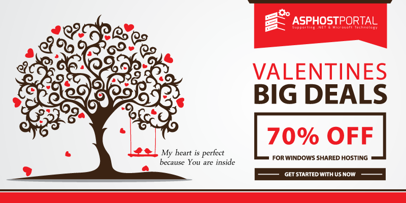 Best and Cheap ASP.NET 4.6 Hosting – Valentine's Day Hosting Promotion
