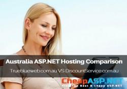 Australia ASP.NET Hosting Comparison - Trueblueweb.com.au VS DiscountService.com.au