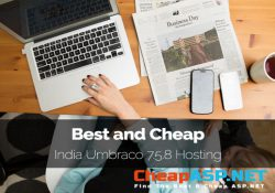 Best and Cheap India Umbraco 7.5.8 Hosting