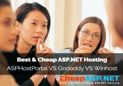 Best and Cheap ASP.NET Hosting - ASPHostPortal.com VS Godaddy VS Winhost