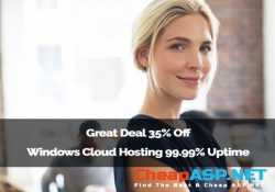 Great Deal 35% Off - Windows Cloud Hosting 99.99% Uptime
