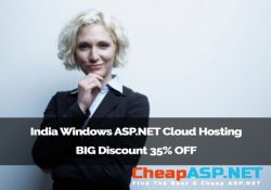 India Windows ASP.NET Cloud Hosting BIG Discount 35% OFF