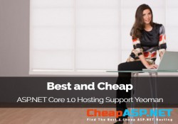 Best and Cheap ASP.NET Core 1.0 Hosting Support Yeoman