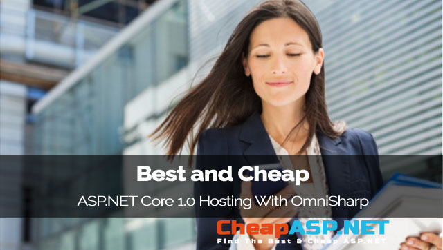 Best and Cheap ASP.NET Core 1.0 Hosting With OmniSharp