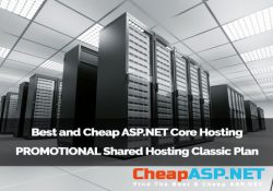 Best and Cheap ASP.NET Core Hosting - PROMOTIONAL Shared Hosting Classic Plan