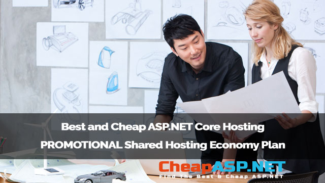 Best and Cheap ASP.NET Core Hosting - PROMOTIONAL Shared Hosting Economy Plan