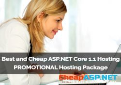 Best and Cheap ASP.NET Core 1.1 Hosting - PROMOTIONAL Hosting Package