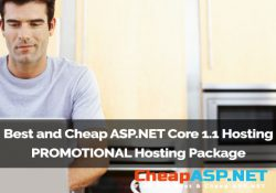 Best and Cheap ASP.NET Core 1.1 Hosting - PROMOTIONAL Host Three Package
