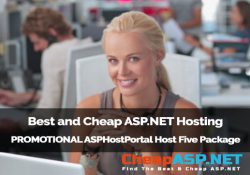 Best and Cheap ASP.NET Hosting - PROMOTIONAL ASPHostPortal Host Five Package
