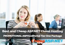 Best and Cheap ASP.NET Cloud Hosting - PROMOTIONAL ASPHostPortal Tier One Package