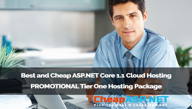 Best and Cheap ASP.NET Core 1.1 Cloud Hosting - PROMOTIONAL Tier One Hosting Package
