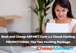 Best and Cheap ASP.NET Core 1.1 Cloud Hosting - PROMOTIONAL Tier Two Hosting Package