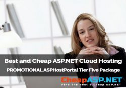 Best and Cheap ASP.NET Cloud Hosting - PROMOTIONAL ASPHostPortal Tier Five Package