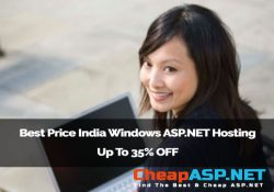 Best Price India Windows ASP.NET Hosting - Up To 35% OFF