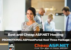Best and Cheap ASP.NET Hosting - PROMOTIONAL ASPHostPortal Host Three Package